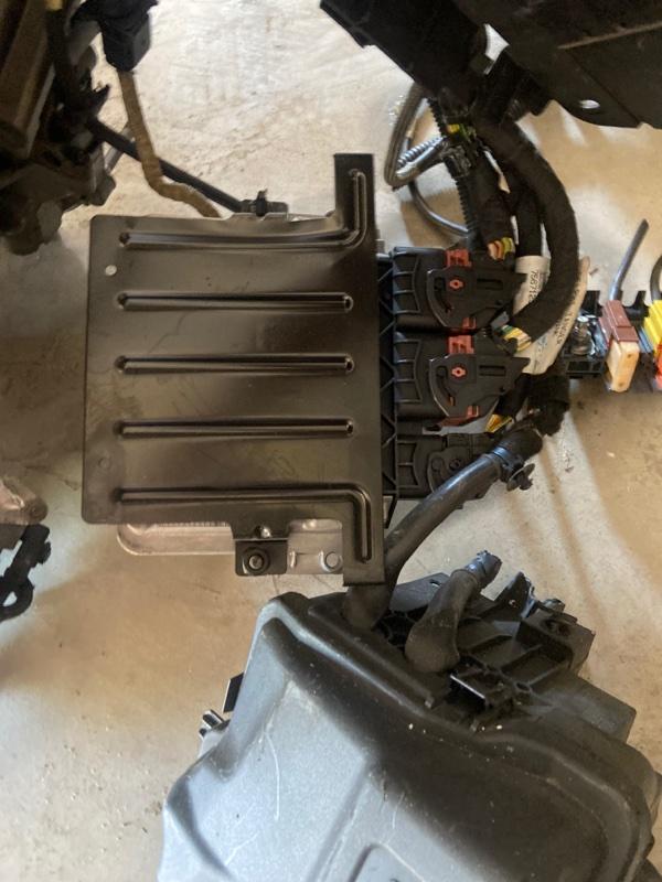 Блок управления двс Peugeot 207 PSA5FW 2003