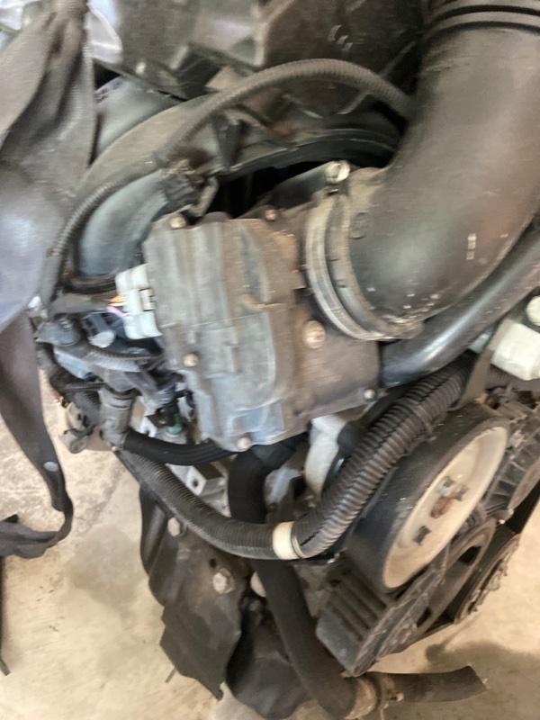 Заслонка дроссельная Peugeot 207 PSA5FW 2003
