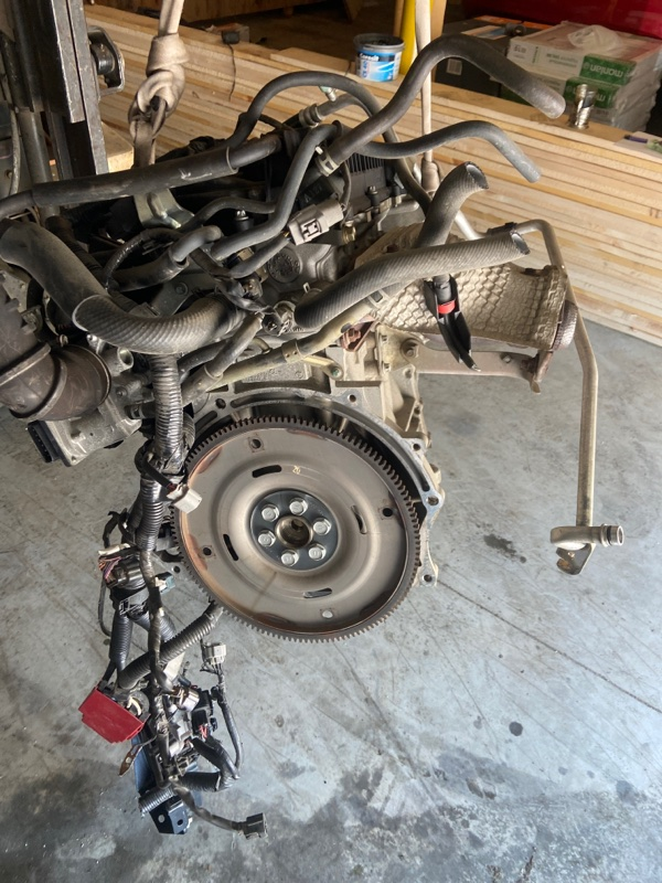 Проводка двигателя Mitsubishi Colt Z21A 4A90 2006