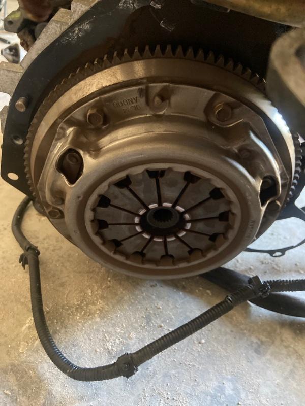 Диск сцепления Nissan March K11 CG10DE