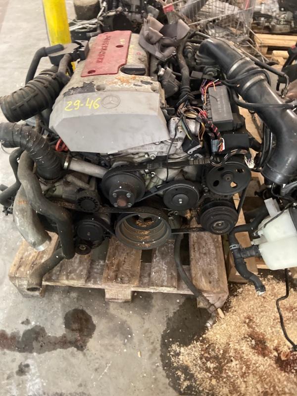 Двигатель Mercedes-Benz Slk 230 Kompressor 111.973 2001