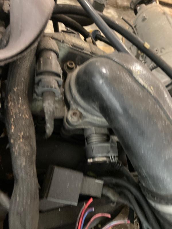 Заслонка дроссельная Mercedes-Benz Slk 230 Kompressor 111.973 2001