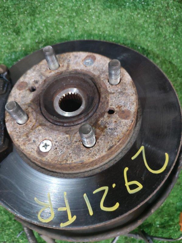 Диск тормозной Honda Logo GA3 D13B передний правый