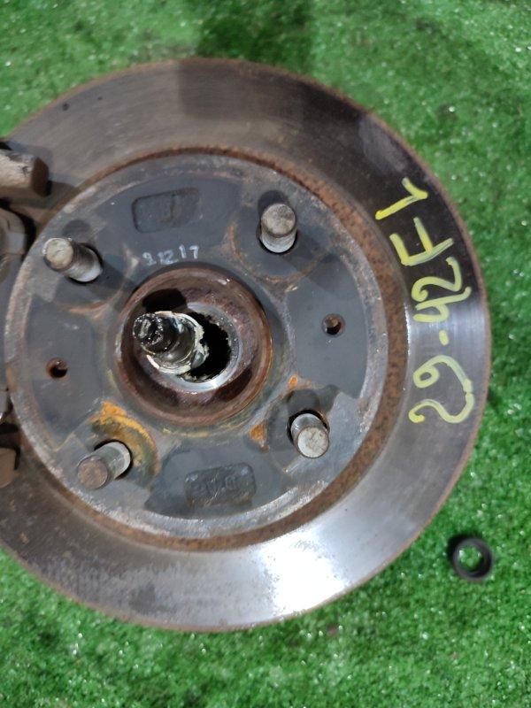 Диск тормозной Toyota Passo KGC10 1KR-FE передний левый