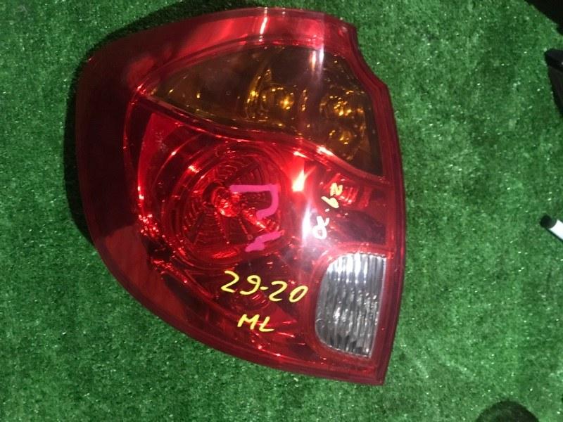 Фонарь стоп-сигнала Mazda Verisa DC5W ZY-VE левый