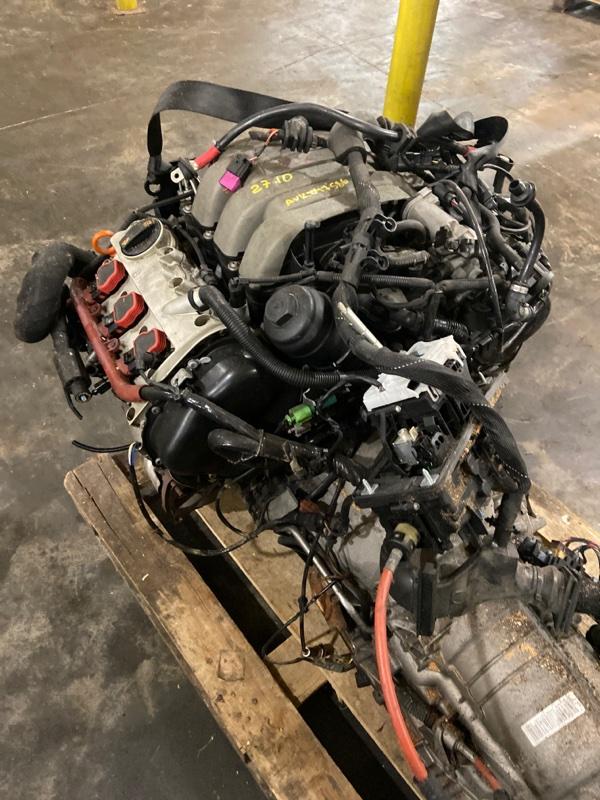 Проводка двигателя Audi A6 AUK 2007