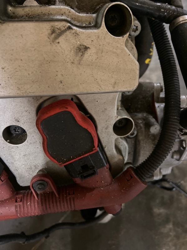 Катушка зажигания Audi A6 AUK 2007