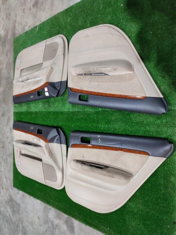 Обшивка двери Toyota Mark Ii GX115 1G-FE 2000