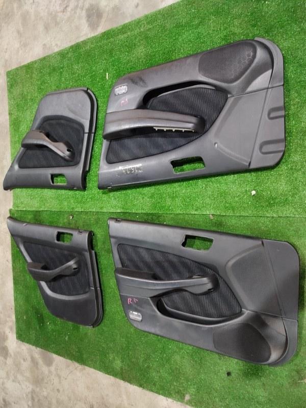 Обшивка двери Honda Torneo CF4 F20B