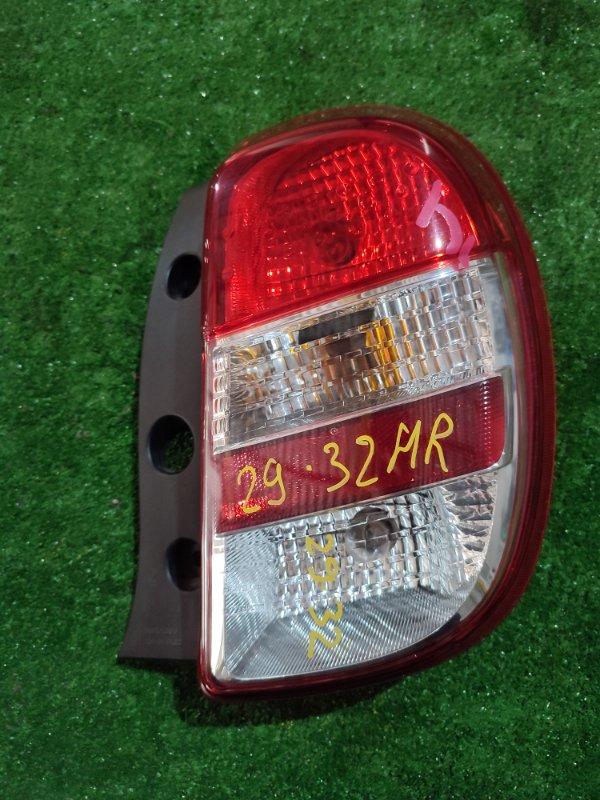 Фонарь стоп-сигнала Nissan March K13 HR12DE правый