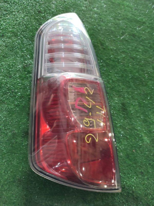Фонарь стоп-сигнала Toyota Passo KGC10 1KR-FE левый