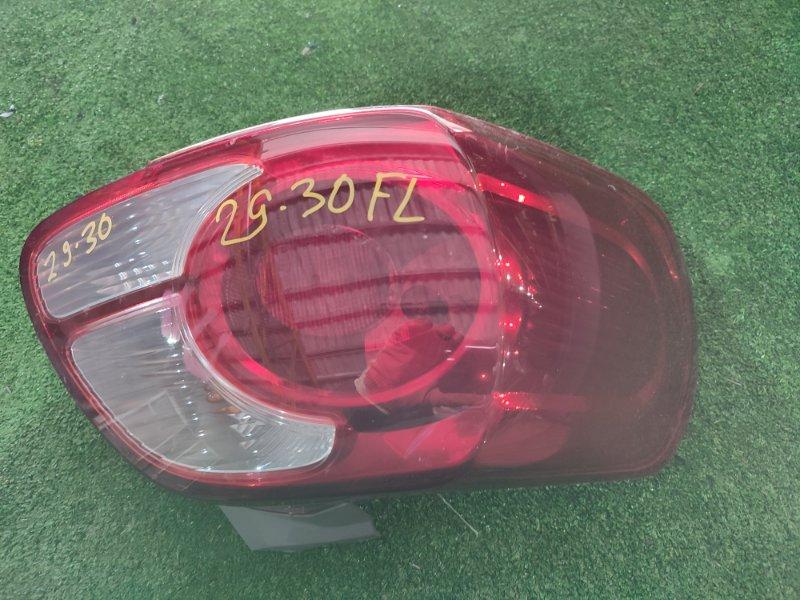 Фонарь стоп-сигнала Toyota Porte NNP11 1NZ-FE левый