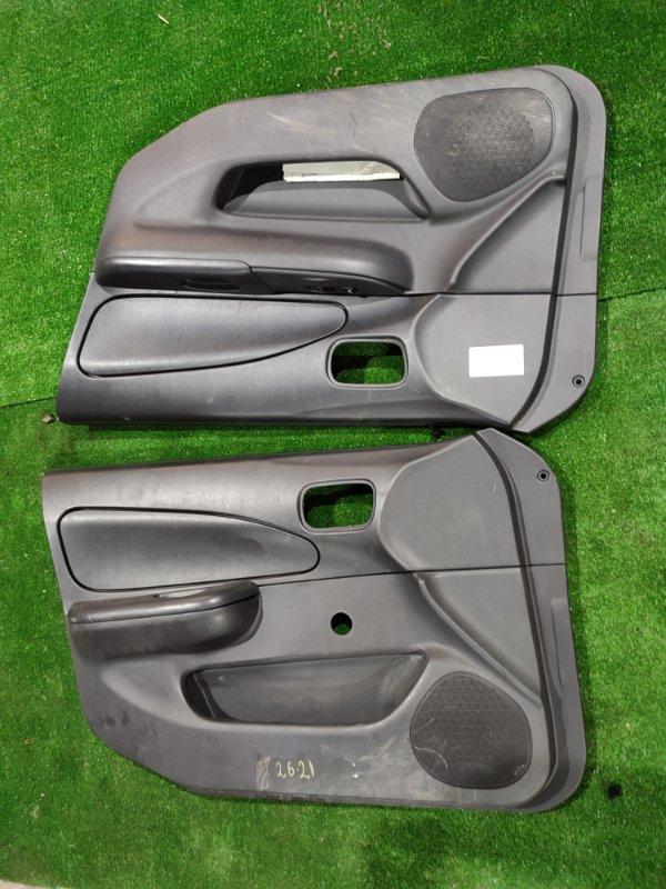 Обшивка двери Nissan Ad VHNY11 QG18DE 2004 передняя