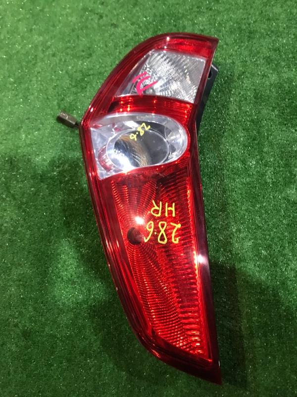 Фонарь стоп-сигнала Suzuki Splash XB32S K12B правый