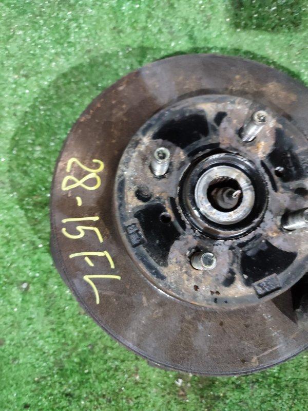 Диск тормозной Mitsubishi Dingo CQ2A 4G15 передний левый