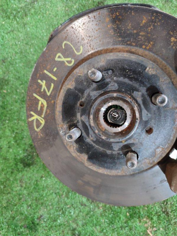 Диск тормозной Toyota Belta KSP92 1KR-FE передний правый
