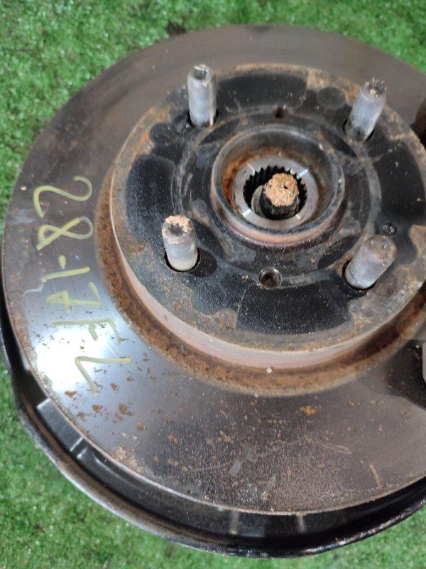 Диск тормозной Toyota Belta KSP92 1KR-FE передний левый