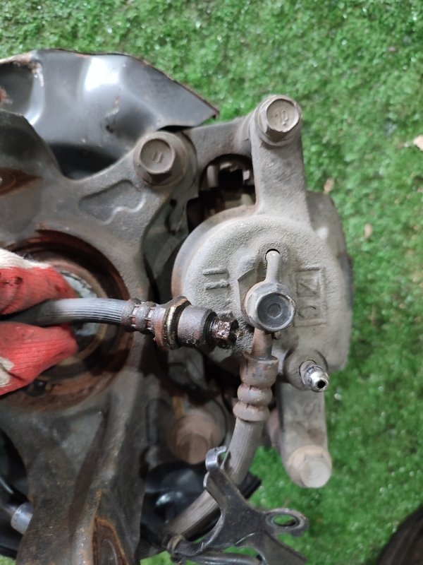 Шланг тормозной Toyota Belta KSP92 1KR-FE передний правый