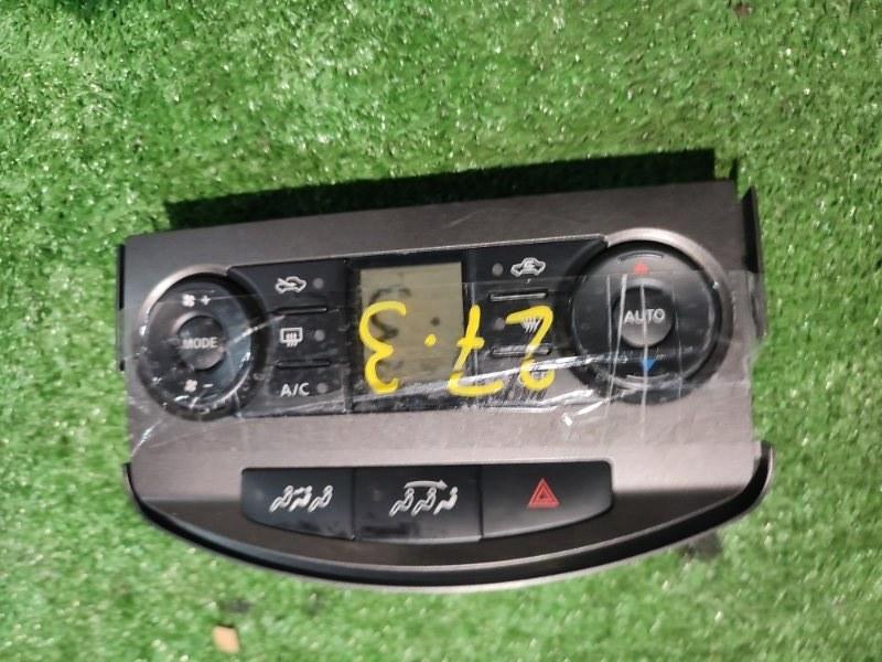 Блок управления климат-контролем Nissan Lafesta B30 MR20DE