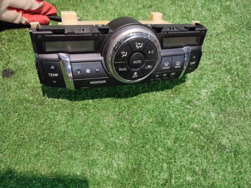 Блок управления климат-контролем Toyota Mark X GRX135 4GR-FSE
