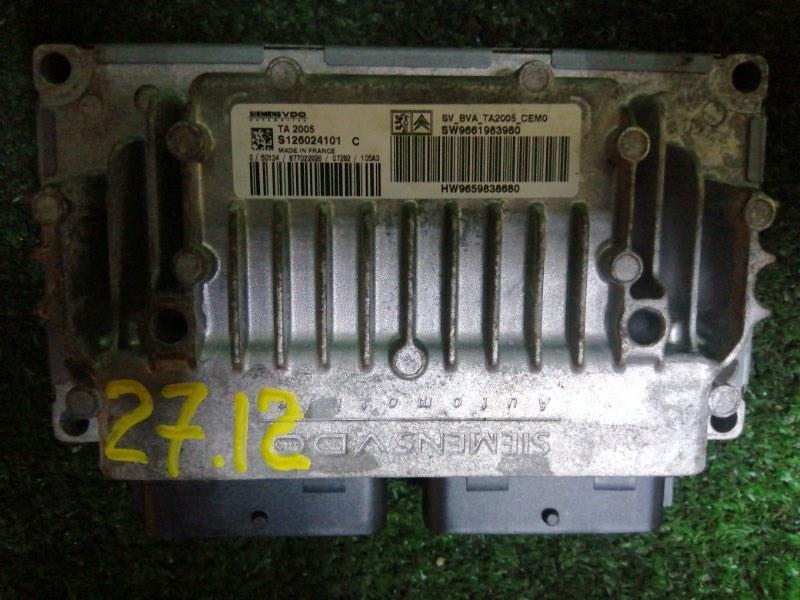 Блок управления кпп Peugeot 307 RFJ 2005