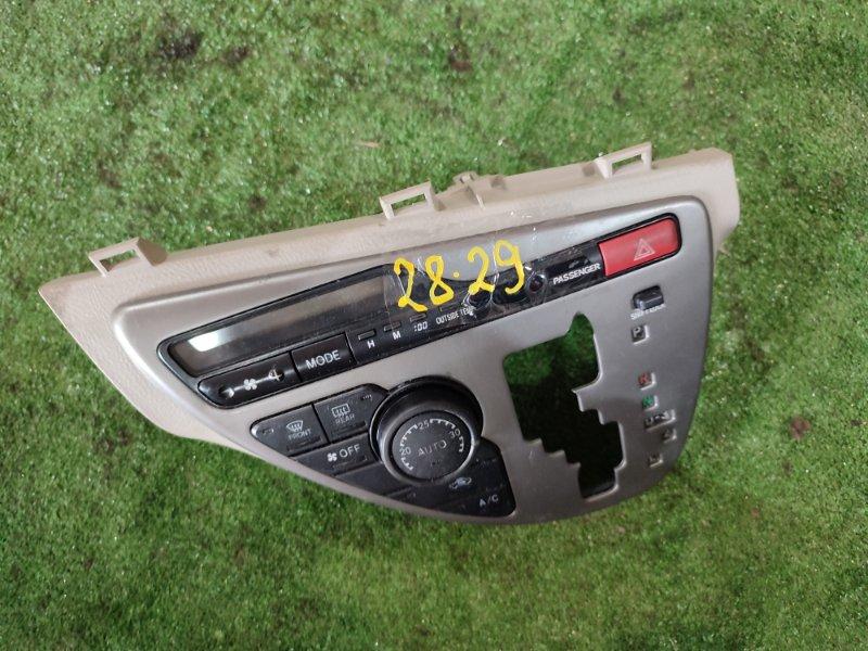 Блок управления климат-контролем Toyota Isis ZNM10W 1ZZ-FE
