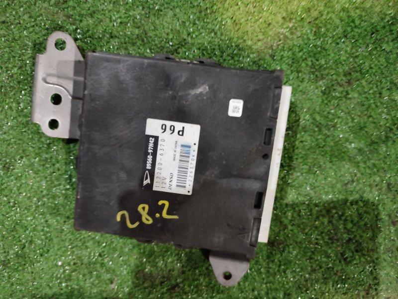 Блок управления двс Daihatsu Yrv M201G K3-VE