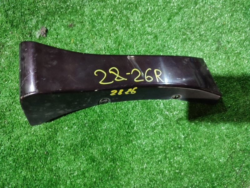 Накладка на крыло Nissan Serena CC25 MR20DE правая