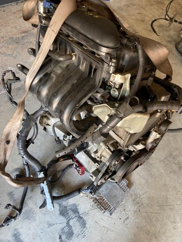 Проводка двигателя Nissan March AK12 CR12DE