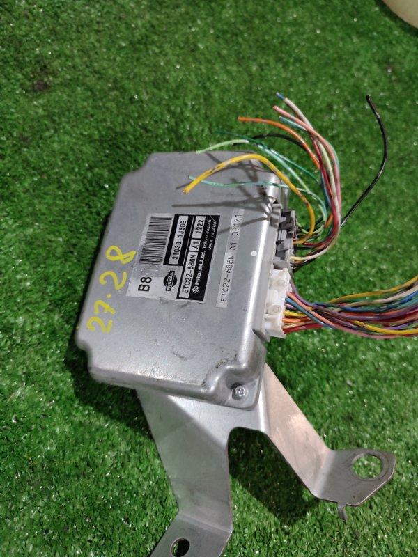 Блок управления кпп Nissan Tiida SC11 HR15DE