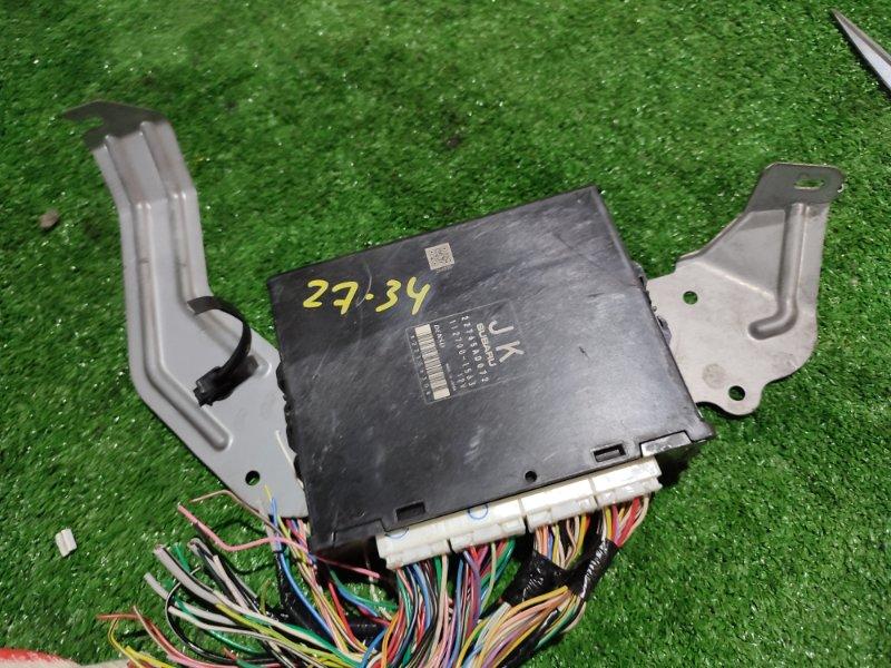 Блок управления двс Subaru Legacy BM9 EJ255