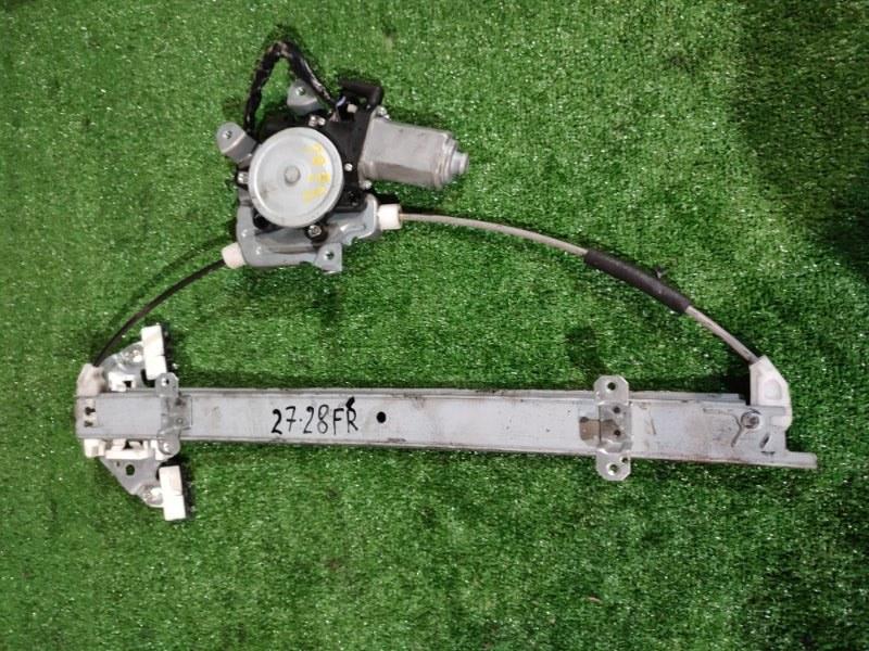Стеклоподъемник Nissan Tiida SC11 HR15DE передний правый