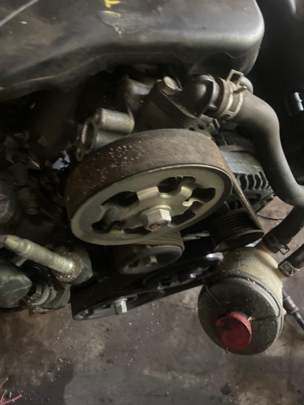 Насос гидроусилителя Honda Odyssey RB1 K24A
