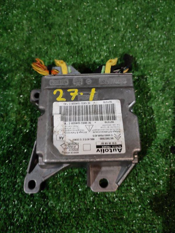 Блок управления airbag Citroen Ds3 1.6 THP 16V 150 (B0FAW) 2010