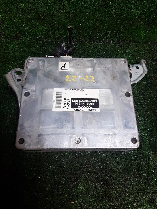 Блок управления двс Toyota Ipsum ACM26W 2AZ-FE