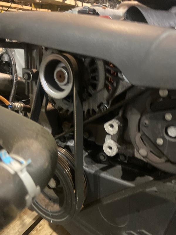 Генератор Subaru Exiga YA4 EJ204
