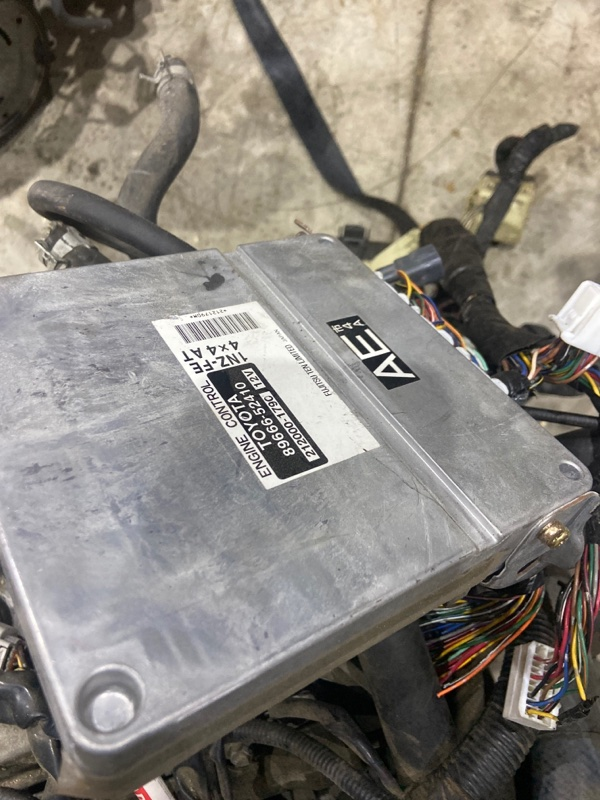 Блок управления двс Toyota Ist NCP65 1NZ-FE 2003