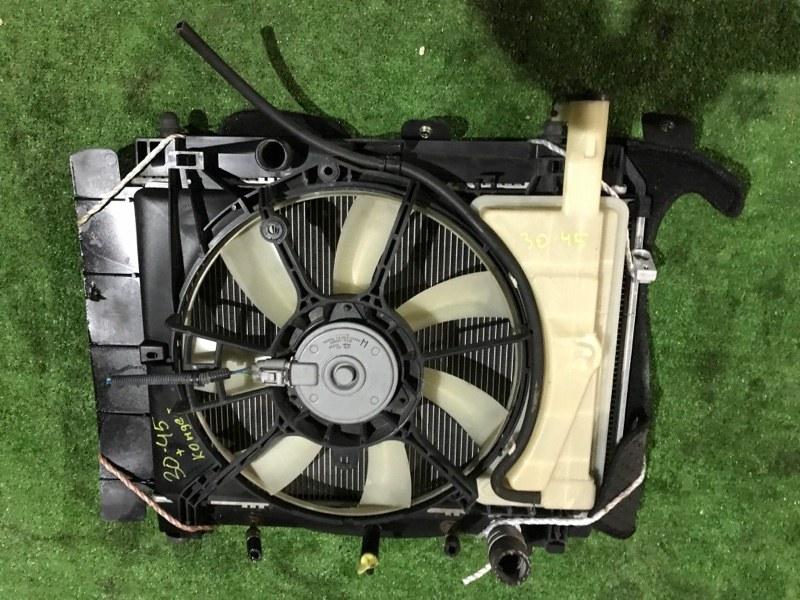 Радиатор двигателя Toyota Vitz NCP95 2NZ-FE