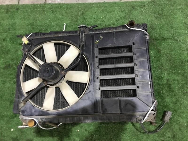 Радиатор двигателя Nissan Bluebird RU11 CA16