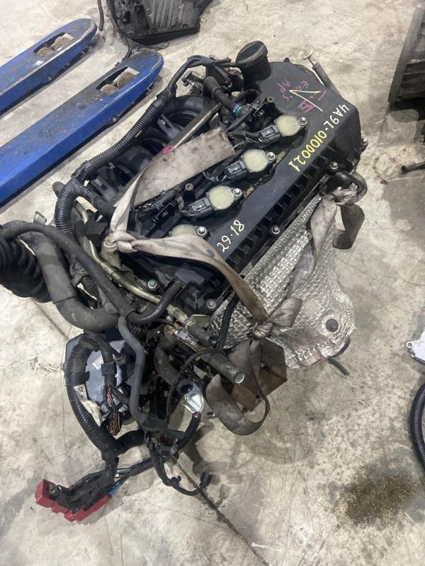 Проводка двигателя Mitsubishi Colt Plus Z23W 4A91 2008
