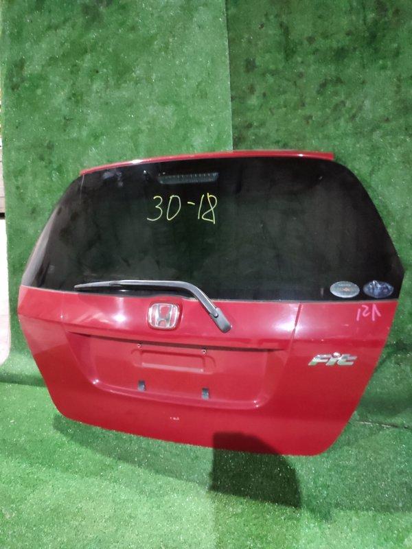 Дверь задняя багажника Honda Fit GD1 L13A