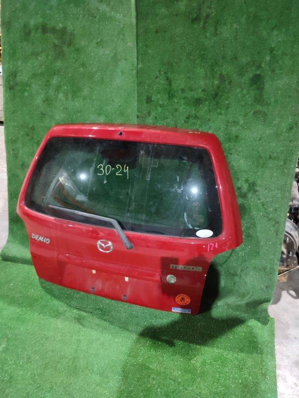 Дверь задняя багажника Mazda Demio DW3W B3