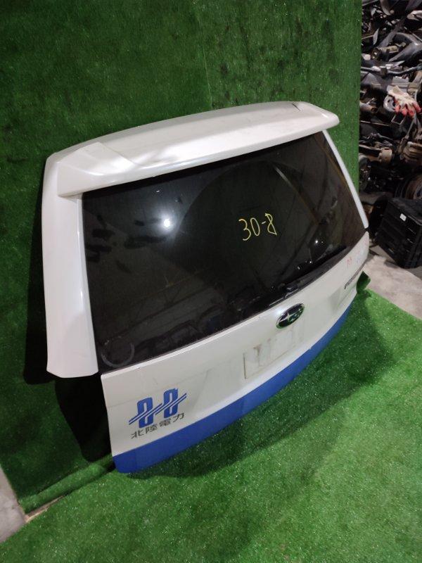 Дверь задняя багажника Subaru Forester SH5 EJ204