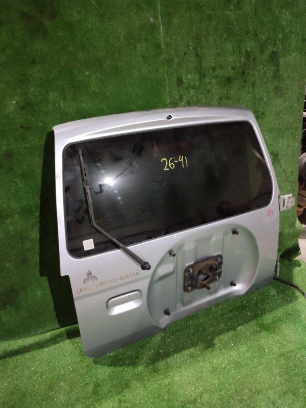 Дверь задняя багажника Mitsubishi Pajero Mini H58A 4A30 2009