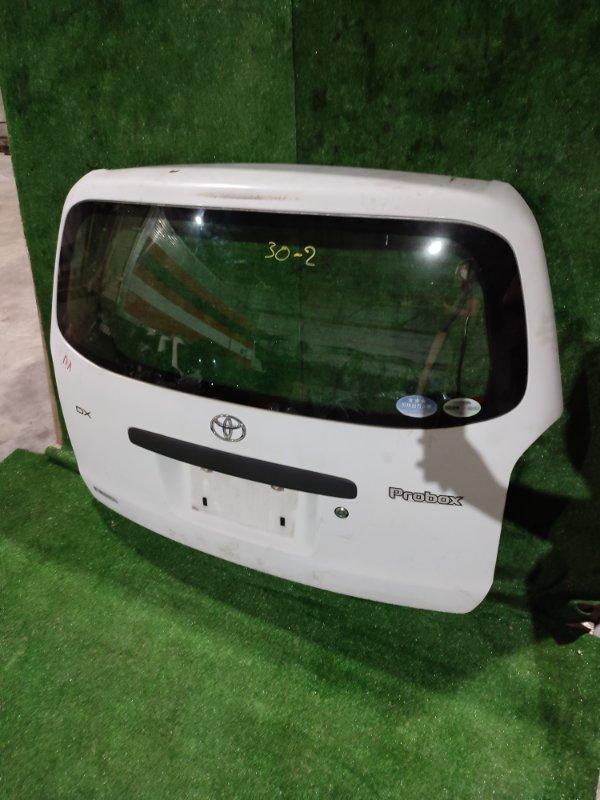 Дверь задняя багажника Toyota Probox NCP50 2NZ-FE