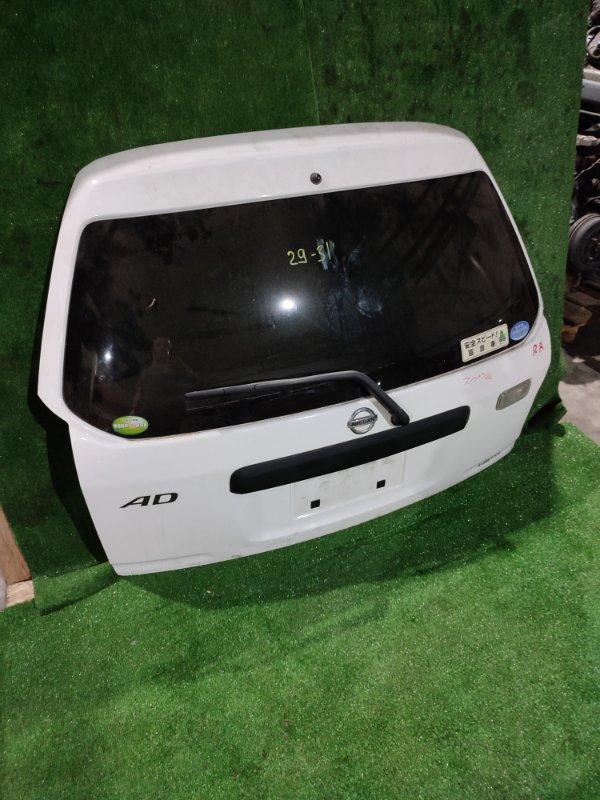 Дверь задняя багажника Nissan Ad VFY11 QG15DE