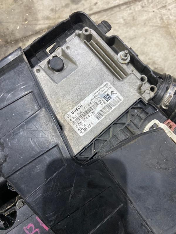 Блок управления двс Citroen Ds3 1.6 THP 16V 150 (B0FAW) 2010