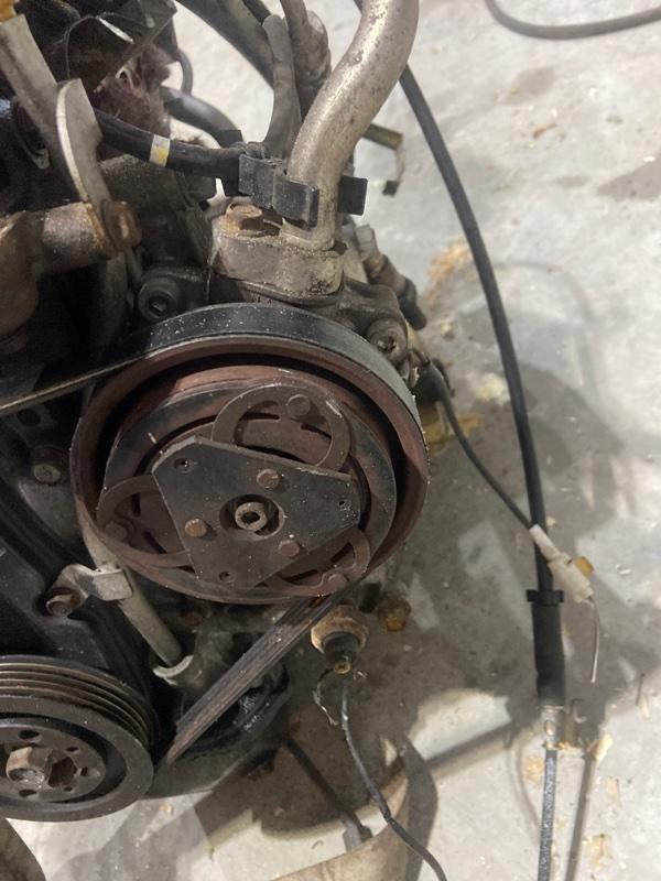 Компрессор кондиционера Subaru R2 RC1 EN07
