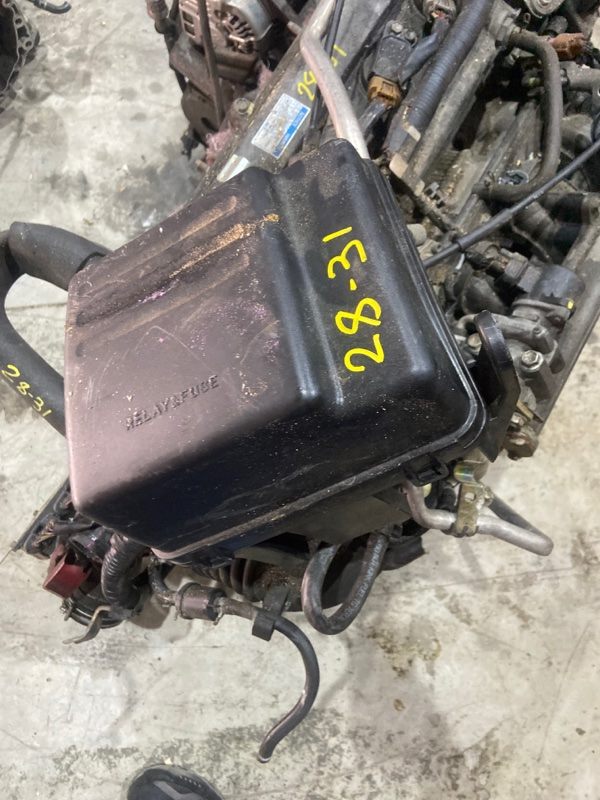 Блок реле и предохранителей Toyota Vista AZV50 1AZ-FSE