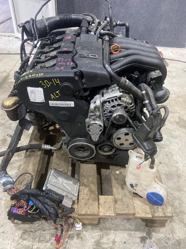 Двигатель Audi A4 ALT 2008